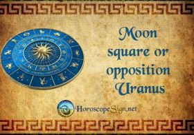 Moon square or opposition Uranus - Horoscope