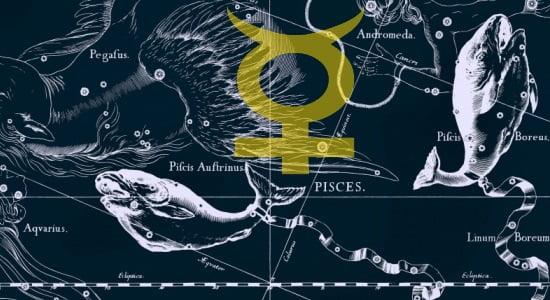 Horoscope Mercury in Pisces