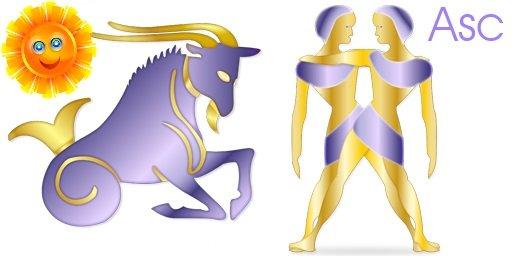 Capricorn Sun Gemini Rising - Horoscope