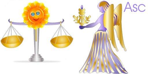 Libra Sun Virgo Rising