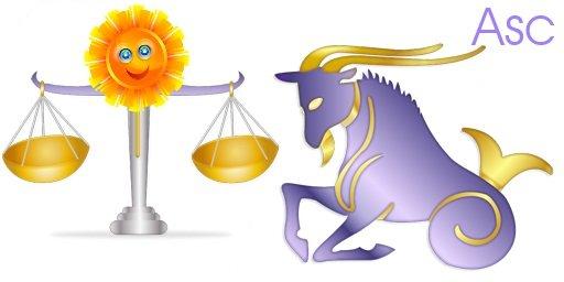 Libra Sun Capricorn Rising