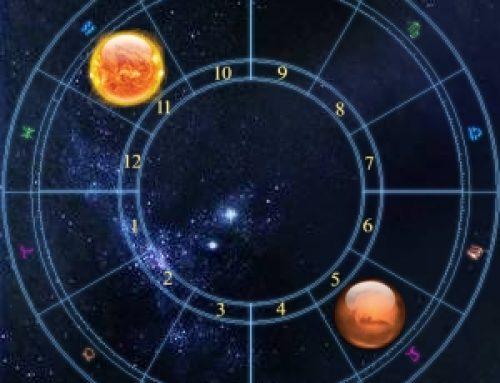 Sun opposition Mars